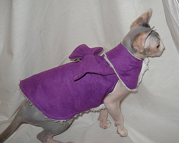 Sphynx Cat Couture Cat Fashions Clothing